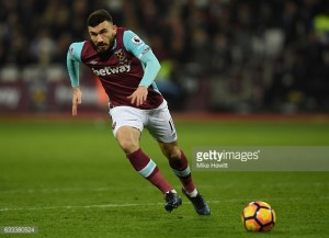West Ham's Robert Snodgrass prepared to take on old friends in West Brom clash