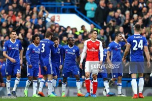 Chelsea 3-1 Arsenal: Blues extend lead at the top against aimless Arsenal