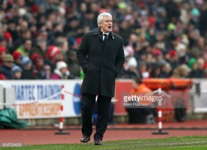 Mark Hughes wants his side to bounce back from Leicester City defeat