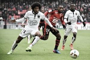 Em jogo movimentado, Nice arranca empate do Rennes, mas fica distante da liderança