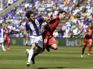 El Valladolid frena el sueño europeo del Getafe
