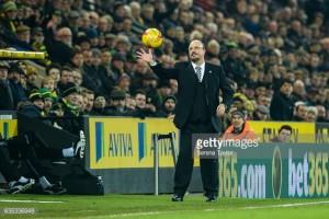 Defensive errors not going to worry Rafael Benitez