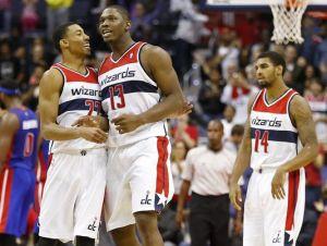 Wall lidera a los Wizards a la victoria