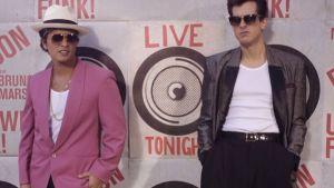 Regreso a los '70 con Bruno Mars y Mark Ronson