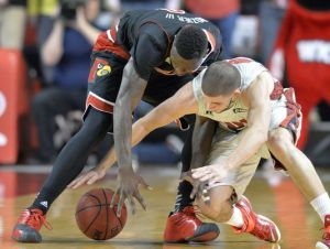 Montrezl Harrell gets ejected as Louisville holds on to defeat Western Kentucky