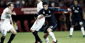James Rodríguez regresó por lo alto, pese a la derrota del Madrid