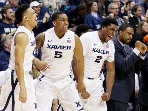 Xavier Musketeers Hold Off Marquette Golden Eagles 90-82