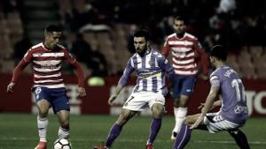 Granada CF - Real Valladolid, puntuaciones del Real Valladolid, jornada 26 de la Liga 1|2|3