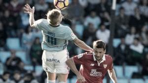 Estadísticas del Celta 0-3 Sevilla