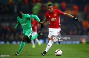 Manchester United Player Ratings vs St. Etienne - Martial performs again
