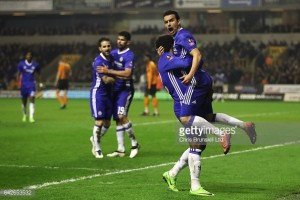 Wolverhampton Wanderers 0-2 Chelsea: Pedro and Costa send Blues into last eight at Molineux