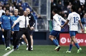 Málaga vira no primeiro tempo, vence Las Palmas e clubes seguem no meio da tabela