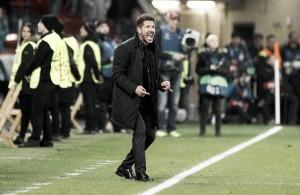 """Simeone reconhece excelente atuação do Atleti, mas alerta: """"As copas são traiçoeiras"""""""