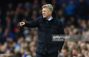 David Moyes encouraged by Sunderland's second-half performance in Everton defeat