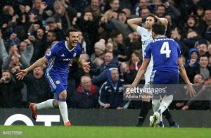Chelsea 3-1 Swansea City: Blues go eleven clear at the top