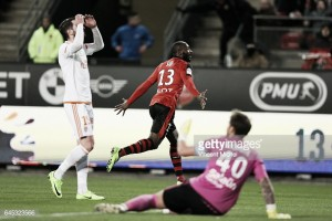 Rennes 1-0 Lorient: First league win for hosts in Brittany Derby