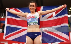 Laura Muir leads the way as young British squad claim ten medals at European Indoor Championships