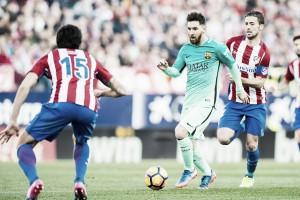 Atlético de Madrid visa encerrar invencibilidade do Barcelona no Campeonato Espanhol