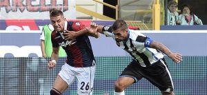 """Bologna - Udinese 1-2, Colantuono """"Grande prestazione"""",Rossi """"Paghiamo qualche ingenuità"""""""