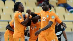 Costa de Marfil golea a Túnez y encarrila su pase a cuartos de final