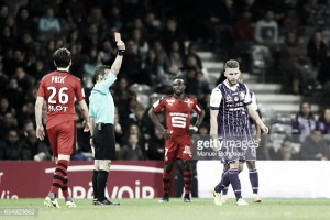Toulouse 0-0 Rennes: ten-man hosts hold on for draw