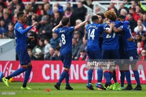 Middlesbrough 1-3 Manchester United: Agnew era starts with defeat to rigorous Red Devils