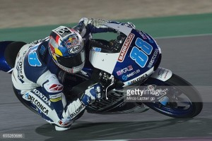 Martin leads the Moto3 after day two of Free Practice in Qatar