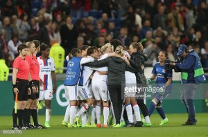 UEFA Women's Champions League - Olympique Lyonnais (2) 0-1 (1) VfL Wolfsburg: Hansen's goal not enough