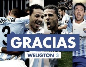 El club agradece a Weligton su gesto