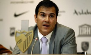 Vicente Casado deja de ser director general del Málaga CF