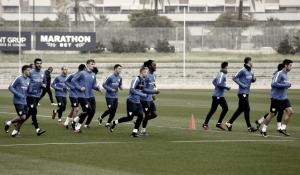 El Málaga ya se centra en el Sevilla
