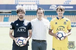 El Alcorcón presenta a Víctor Pérez y Unai Elgezabal