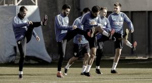 El Málaga CF vuelve al trabajo tras el descanso navideño