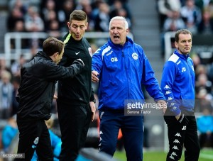 """Graham Barrow """"proud"""" of players after narrow Newcastle United defeat"""