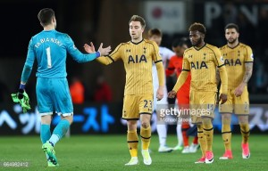 Eriksen: Defeat to Swansea would have ended Tottenham's title hopes