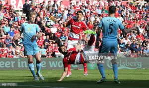 Middlesbrough 0-0 Burnley: Point does not look to be enough as Agnew's men looked doomed to relegation