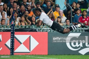 Nasoko double helps Fiji claim third straight Hong Kong Sevens title