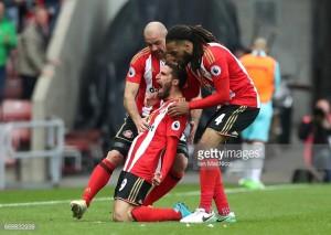 Sunderland 2-2 West Ham United: Fabio Borini's late strike steals point from ten-man Hammers