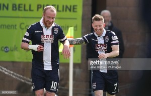 Burton Albion sign Liam Boyce from Ross County in a club-record deal