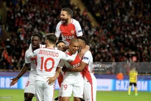 Monaco ease past Dortmund to reach last-four