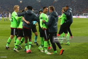 Schalke 04 (3) 3-2 (4) Ajax AET: Viergeber and Younes break Royal Blues' hearts