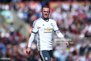 Wayne Rooney could feature in midfield against Swansea City