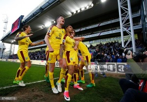 Dyche dedicates Burnley's big win at Palace to the fans