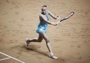 WTA Madrid: Kristina Mladenovic advances after Ana Konjuh retires after a set apiece