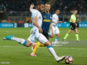 AC Milan linked with Napoli's Faouzi Ghoulam