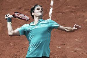 Federer supera a Cuevas en segunda ronda