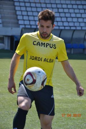 Jordi Alba organiza en julio un campus en Hospitalet