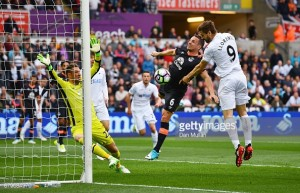 Swansea City 1-0 Everton: Llorente heads Swans out of relegation zone