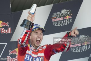 MotoGP: First podium for Lorenzo since moving to Ducati