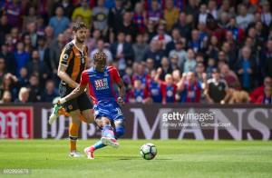 Wilfried Zaha wins Crystal Palace's Player of the Year award